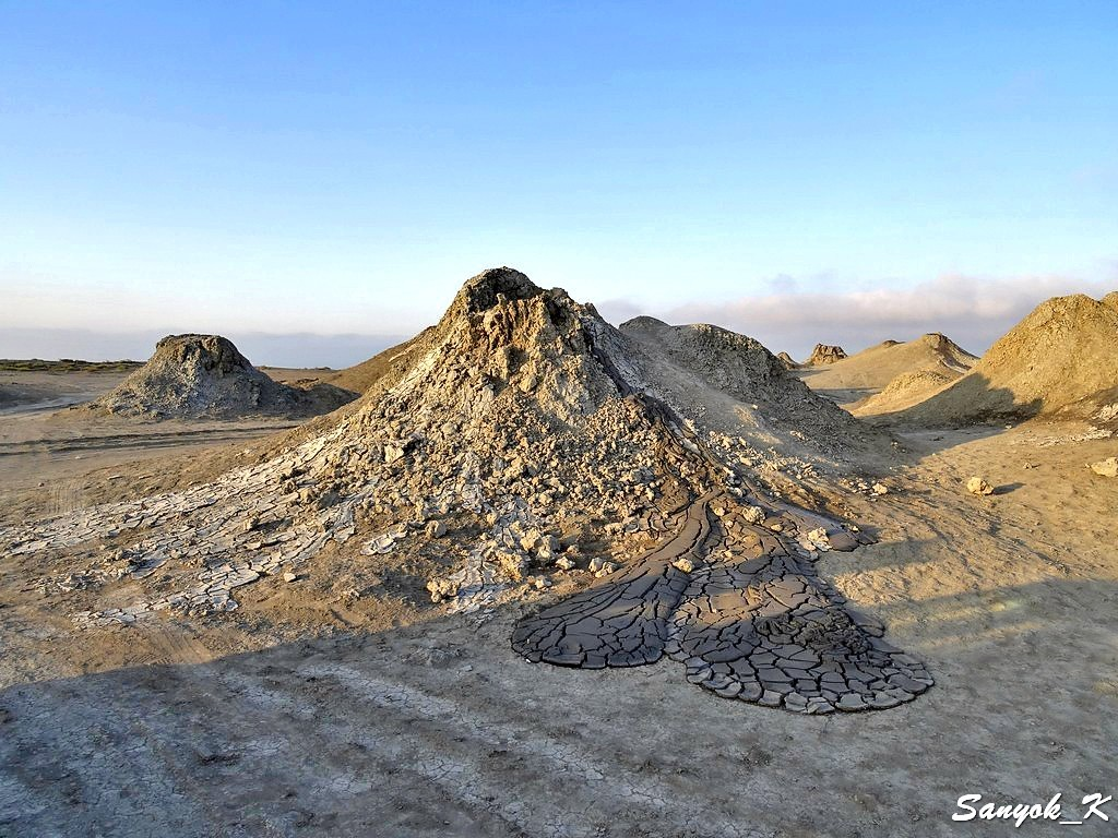 5236 Alyat Mud volcanoes Алят Грязевые вулканы